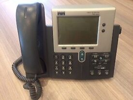 Cisco Office IP Phones 7940 Series & Spider Conference Phone- Excellent Condition-details on inquiry