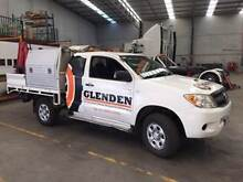 TOYOTA HILUX kun26 SR 2007 WORK UTE WITH CRANE AND TOOLBOXES Beaconsfield Cardinia Area Preview