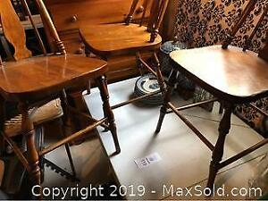 Antique Wooden Chairs 3