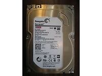 Seagate Barracuda 1Tb 1000Gb HDD for desktop PC, SATA