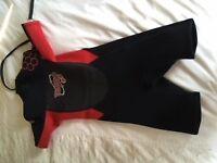 Boys shorty wet suit age 9