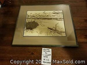original artwork signed K. Lusignan