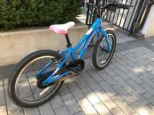 "Girls ""Trek"" 2017 Bike almost new perfect for 6-8 yr okd"