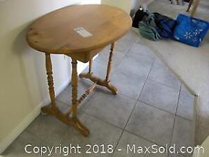Oval Table. C