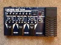 BOSS ME50B Bass effects pedal