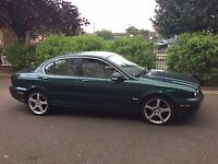 Jaguar X-Type 2.2 SE 4d AUTO 145 BHP***SERVICE HISTOY** SAT NAV**IVORY LEATHER** BLUETOOTH