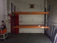 Industrial Pallet Racking - 13 full units (bays) - Various types