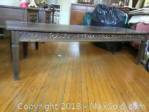 3 Vintage Wooden Tables B