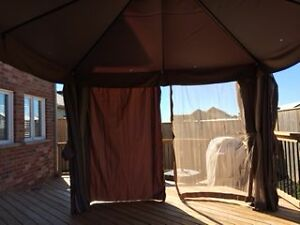 One year old Canvas Gazebo