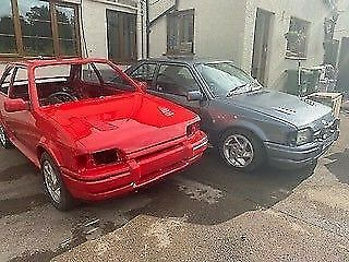 2 Ford Escort S2 RS Turbo's - Project