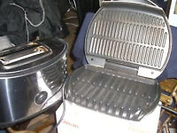 TWO SLICE TOASTER AND A HEALTHY COOKING GRILL - TOP CONDITION - CLACTON ON SEA - CO15 6AJ