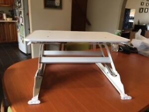 Wynston Sit Stand Desk Small White Adamstown Newcastle Area Preview