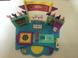 Vintage 1999 Polly Pocket Vault Gym Turnfest