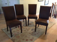 Parsons Chairs -Set of 4