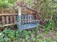 Iron Seat / Bench