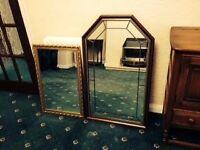 Wall Mirror x 2