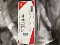 Justin Bieber Ticket 30th June Cardiff