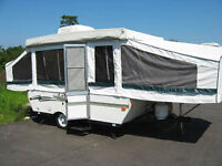 2003 Palomino Yearling RL tent trailer with extras