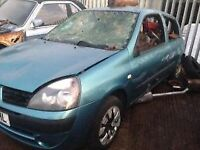 2006 RENAULT CLIO 1.2 - BREAKING FOR PARTS