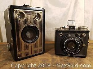 Two Brownie Cameras