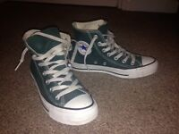 Converse shoes DARK GREEN Size 5 (37.5)