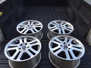 Ford 17 inch 5 bolt rims like new