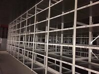 JOBLOT 45 bays of LINK industrial shelving 3m high AS NEW ( storage , pallet racking )