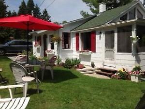 Chalet 3 saisons à vendre - sur Lac Corbeau