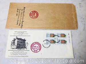 TORONTOS FIRST POST OFFICE SPECIAL FIRST DAY COVER AND MORE