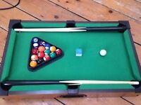 Miniature Pool Table