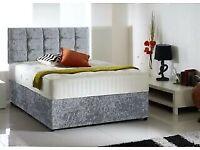 Bed and 25cm Memory Foam Mattress Single £135 Double £165 Kingsize £195 Superking £235