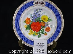 Two Wedgwood Chelsea Flower Show Plates 1983 -- Collector's Item