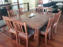 Dining Table & Chairs [Square 8 Seater] Chapel Hill Brisbane North West Preview