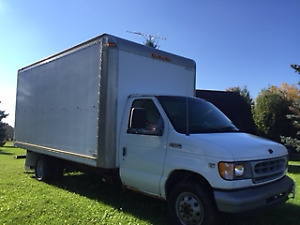 2002 Ford E-350 Cube Van Other