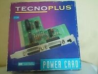 TECHNOPLUS POWER GAME CARD TP-164 BRAND NEW WITH A USERS MANUAL BOOKLET £5