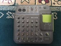 Bellkin TuneStudio mixing desk