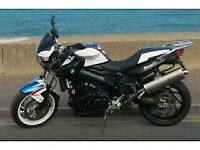BMW F800R Chris Pfeiffer Limited Edition Motorcycle plus BMW Panniers for sale  Norwich, Norfolk