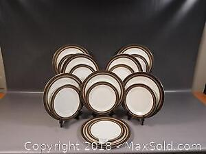 ROYAL DOULTON Cadenza NEW Never used Dinner and Salad/Luncheon Plates