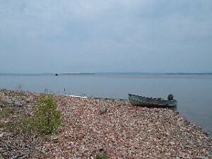 1702 acres 5250 ft sand/pebbles beach lake Superior crown land