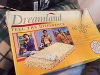 Dreamland sheepskin heating pad 32 x 44 cm