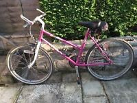 Ladies Peugeot Malibu (ATB) Mountain Bike – Pink