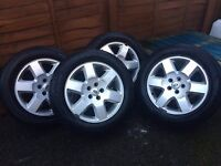 FOUR ALLOYS LAND ROVER 19''