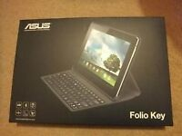 (NEW AND SEALED ) ASUS Official Folio Bluetooth Keyboard Case