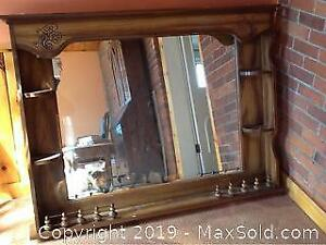 Large Mirror For Over A Fireplace Or A Dresser