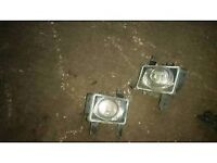 Genuine 04-09 Vauxhall Zafira fog lamps (Pair)