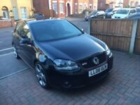 Black Golf GTI DSG 2.0 litre. 2008 semi automatic, Petrol, 198 bhp £5,600