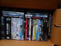 assorted dvd 3 boxes