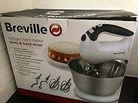 Brand new still in box Breville Twin motor stand and hand mixer