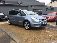 2007 FORD S-MAX TITIANIUM 1.8 TDCI ...... 7 SEATER ...... BLUE ...... P/X WELCOME