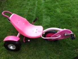 Girls Pink Rocker (Go-Kart)